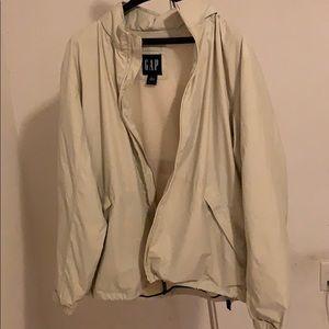 Gap Men's Lightweight Tan Jacket Size Large